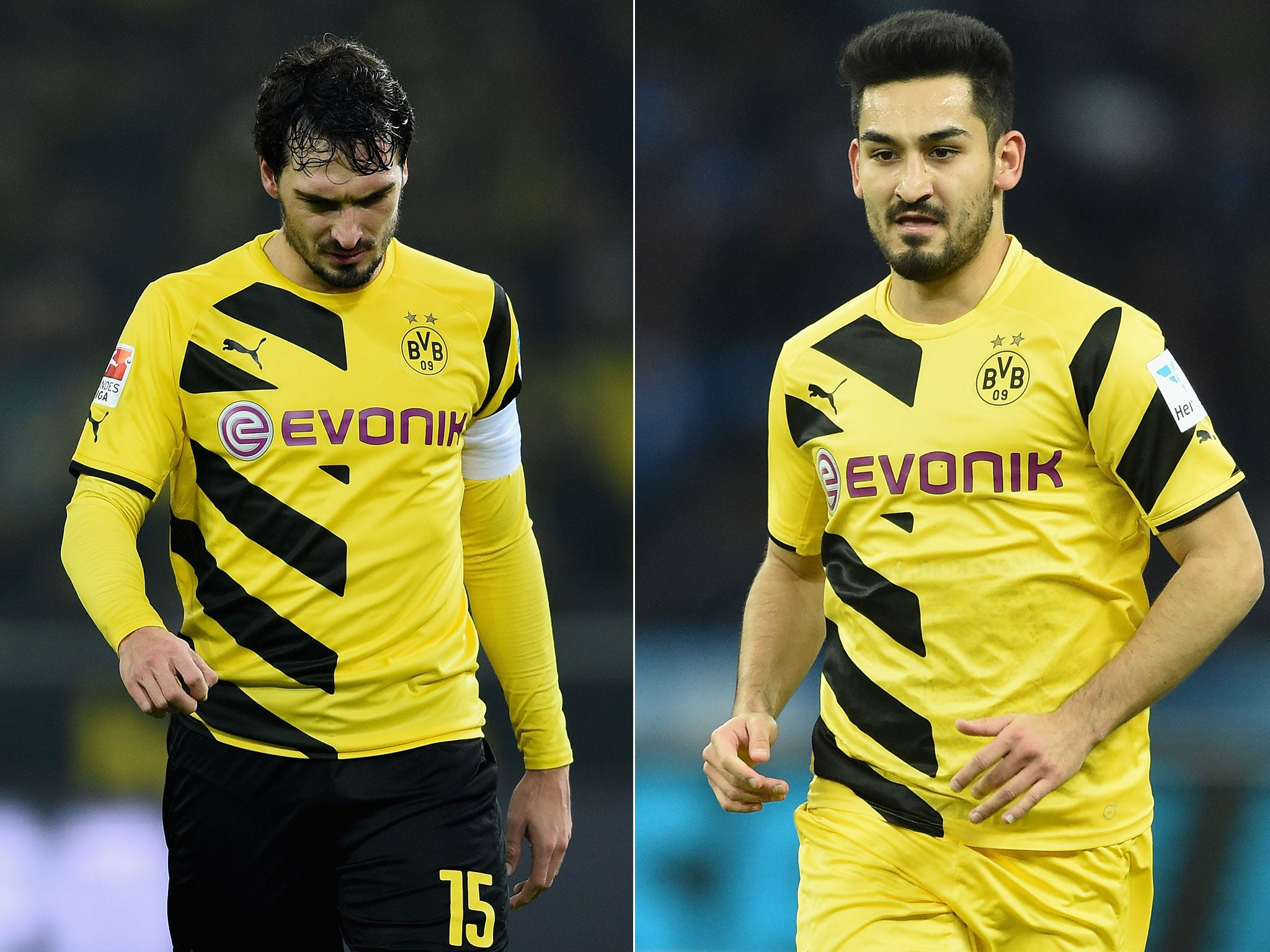 Manchester United pursuit of Ilkay Gundogan and Mats Hummels