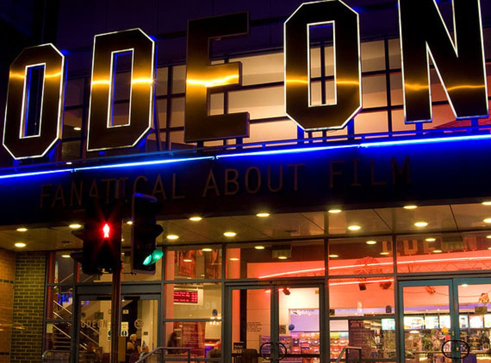 Odeon cinema Epsom, where a disabled man was asked to leave because the sound of his ventilator was a 'nuisance'