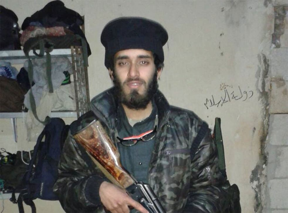 Former RGS schoolboy Shabazz Suleman, who now lists his location on Facebook as Raqqa, Syria