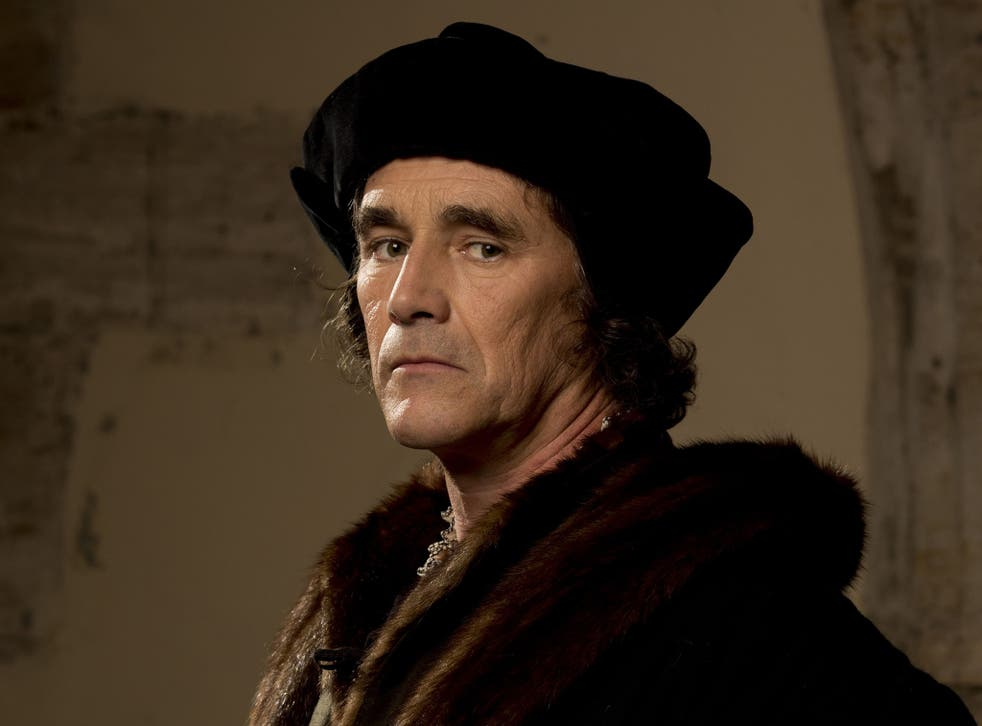 Wolf Hall's Thomas Cromwell, played by Mark Rylance