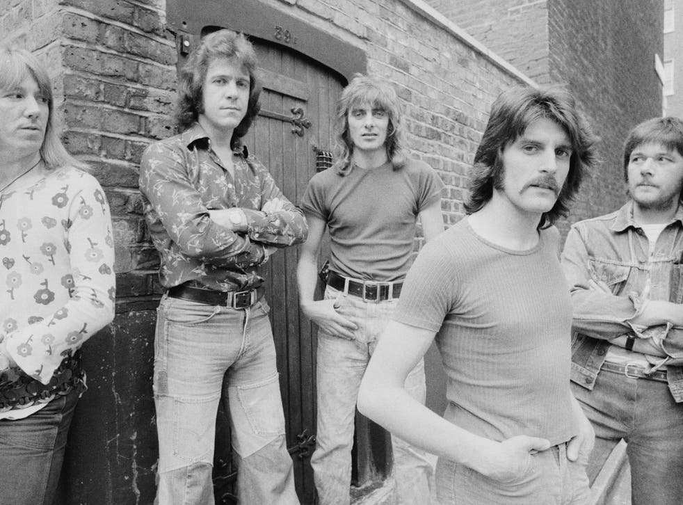 Dozy, far right, with, from the left, Tich, Dave Dee, Mick and Beaky