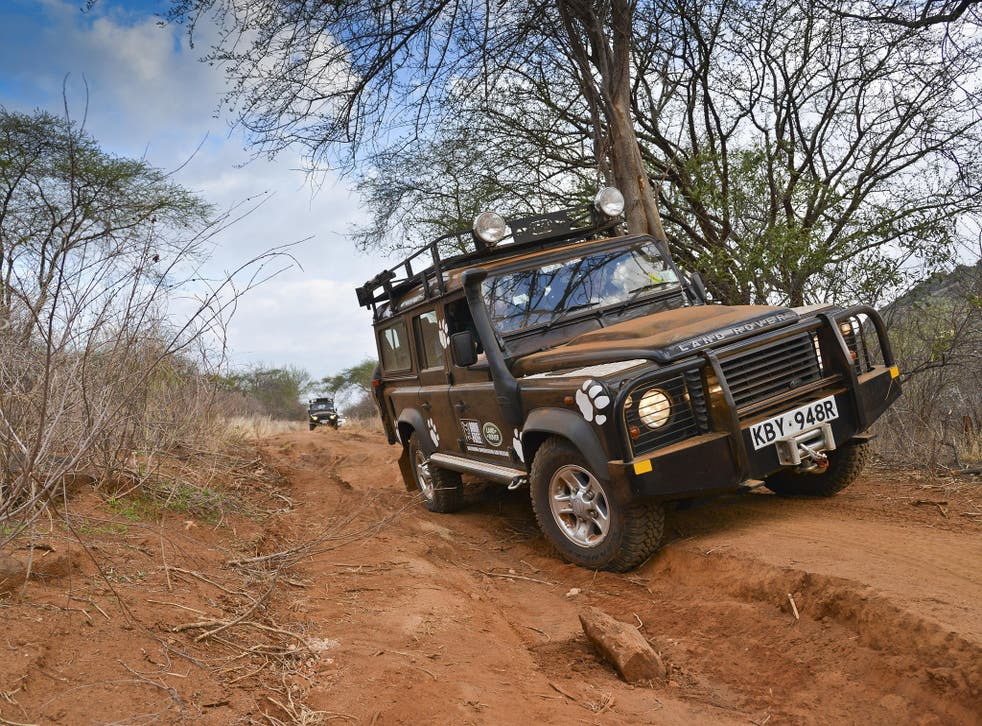 War horse: the Defender can tackle the toughest terrains
