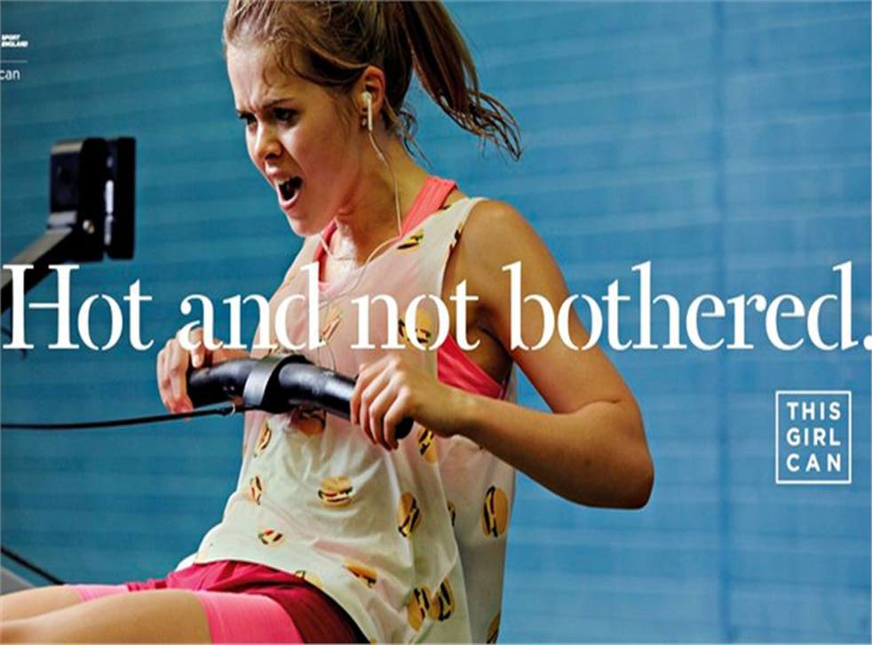 An image from the This Girl Can campaign