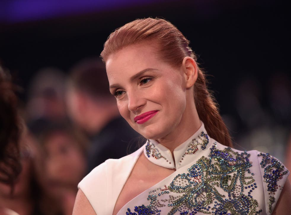 Jessica Chastain at the Critics Choice Awards 2015