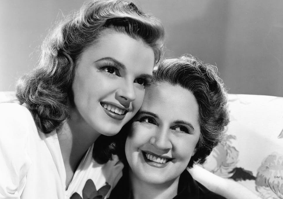 Image result for JUDY GARLAND AND HER MOTHER
