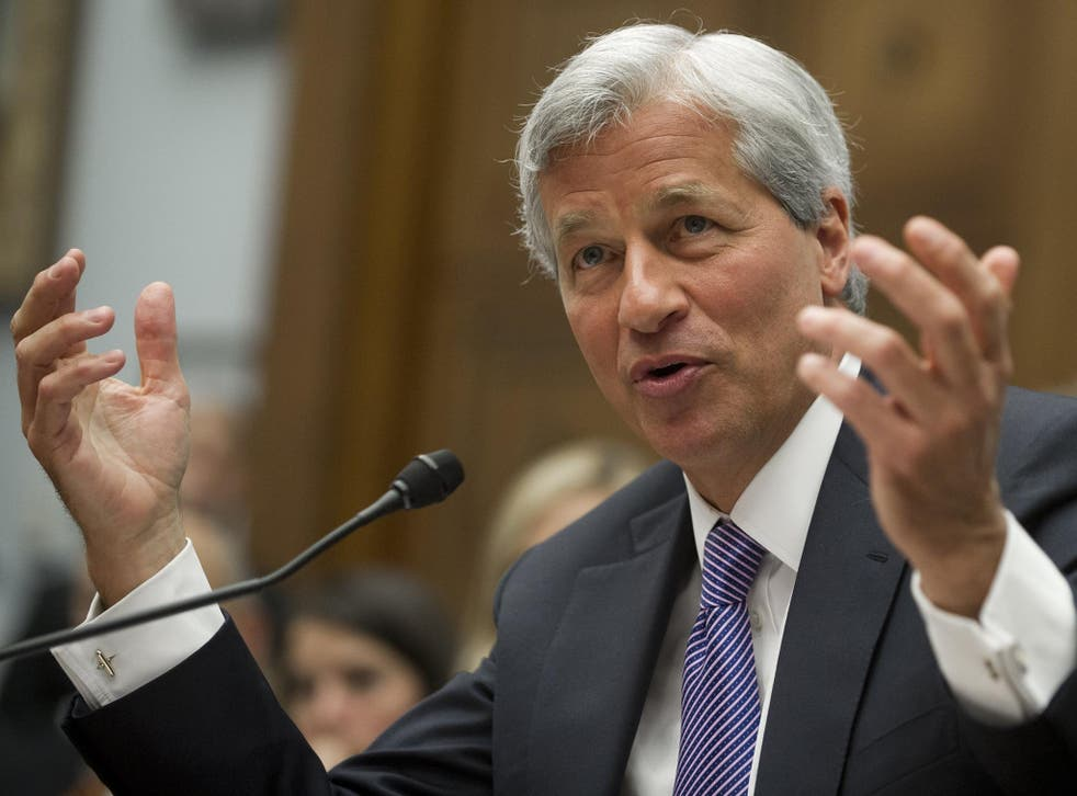 JP Morgan boss Jamie Dimon has revised down an initial estimated of jobs immediately leaving London but they could still go over the long term