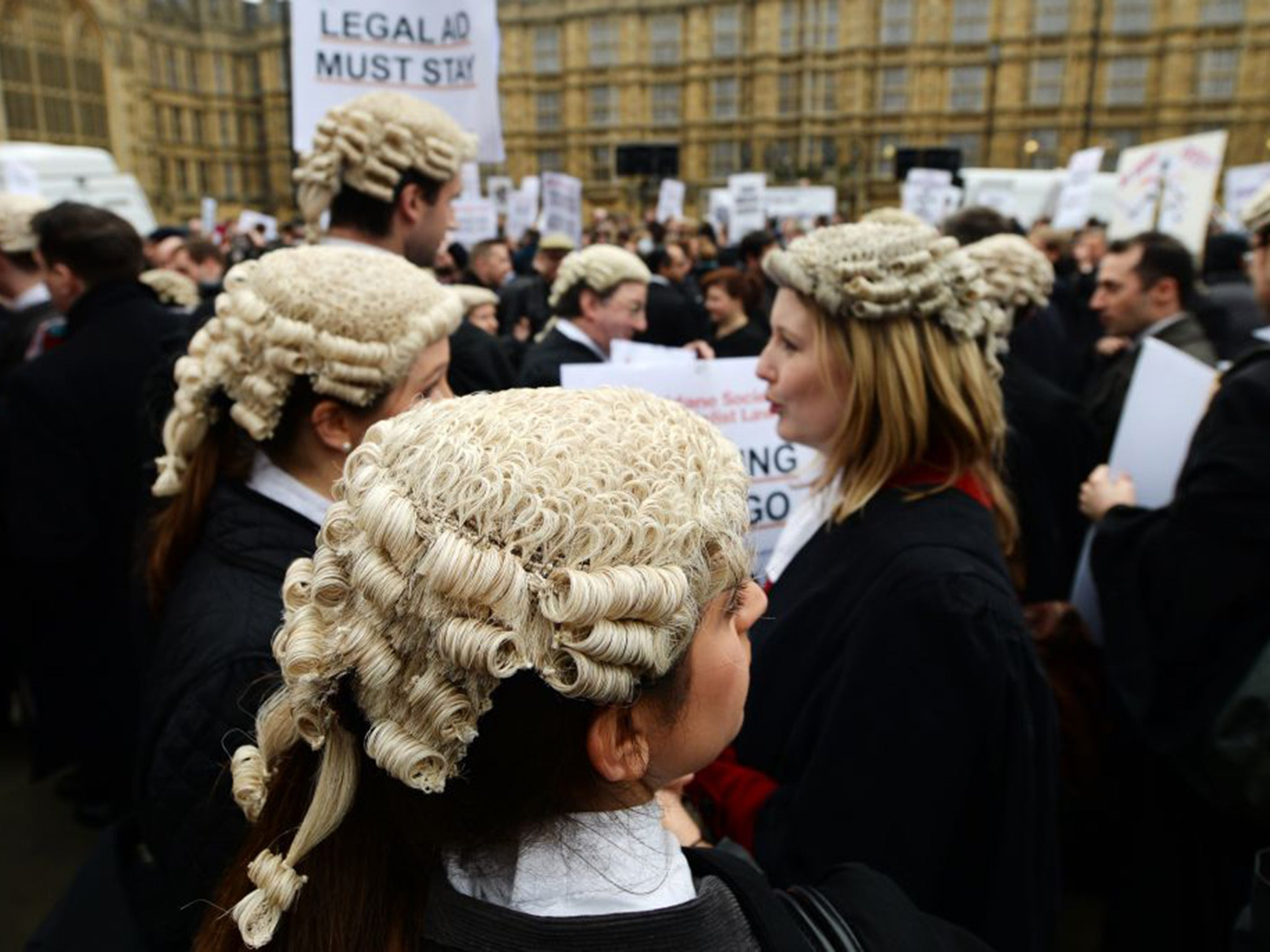 justice is under threat in the Trump is politicising the courts – and our judiciary is under threat us justice system.