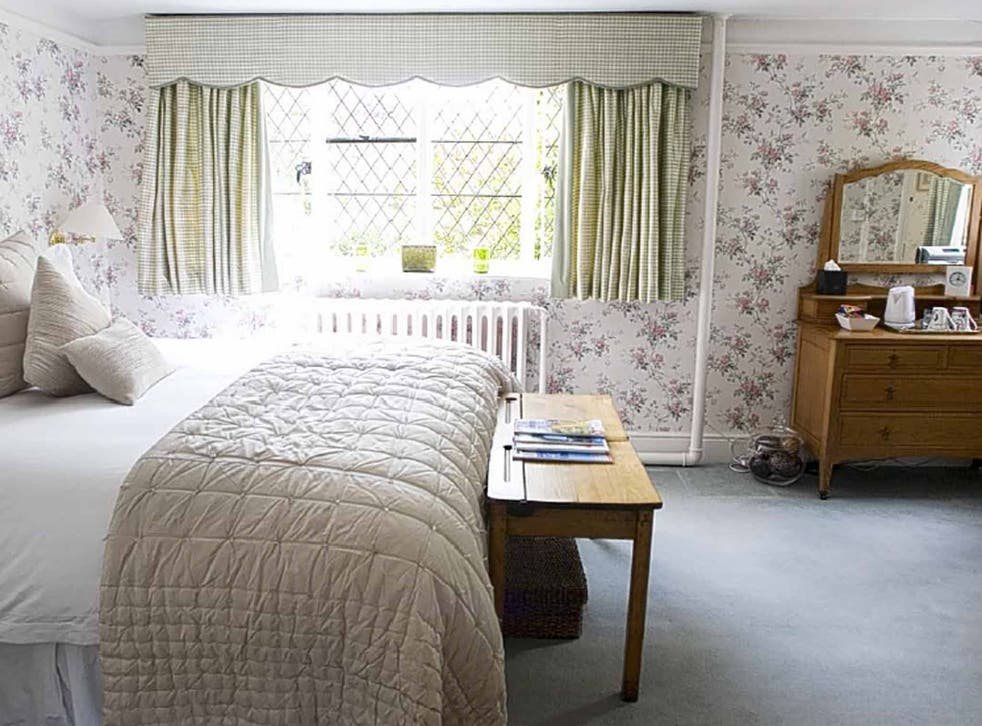 A bedroom at the Malt House
