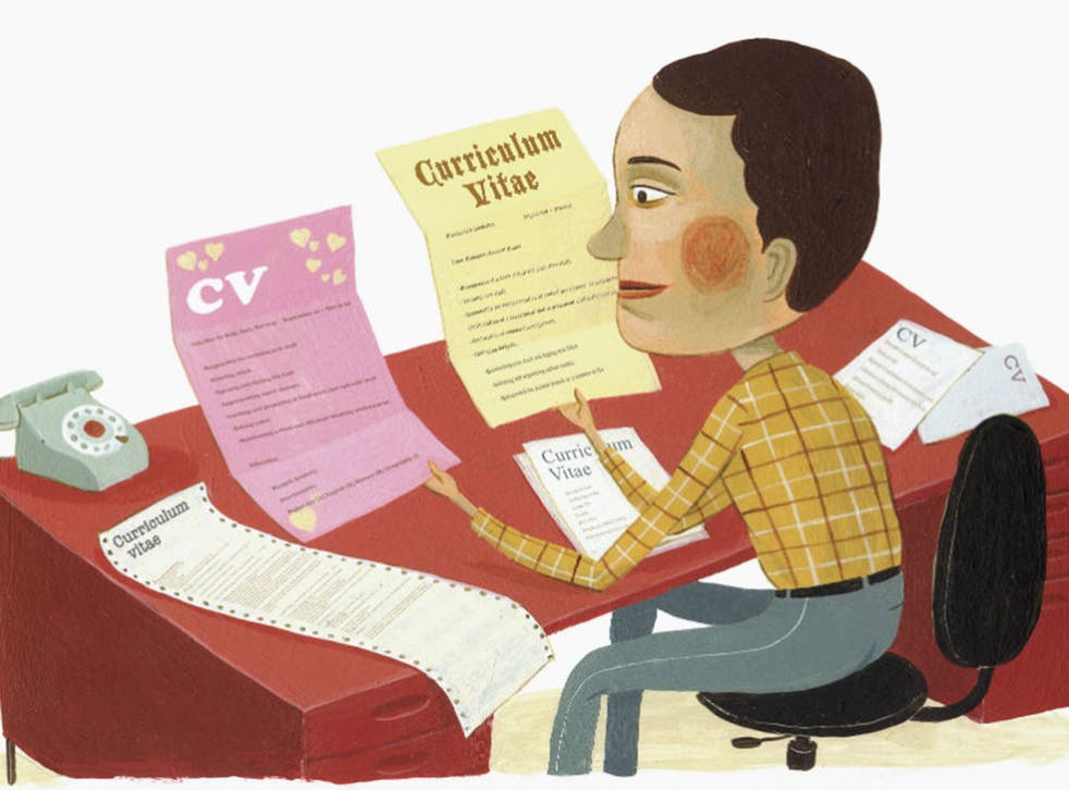 Half of employers admitted to only spending six seconds looking at each CV