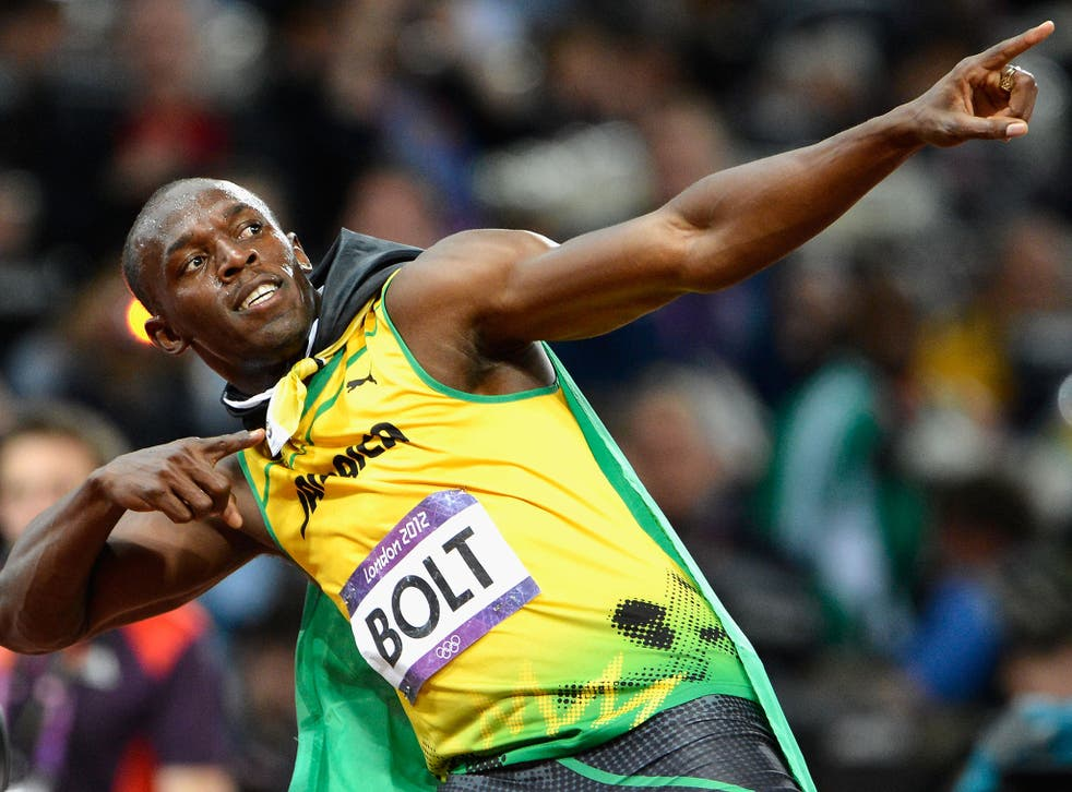 Usain Bolt may be the fastest man in the world but he's allegedly a nightmare neighbour