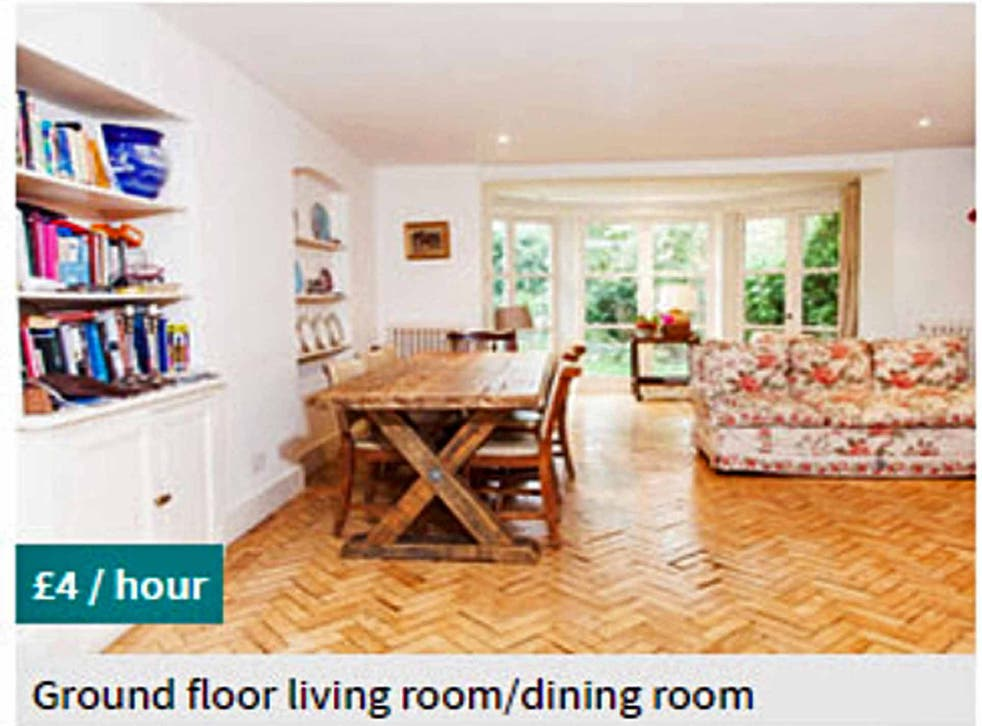 Nice and Vrumi: a room currently on offer on the company's website