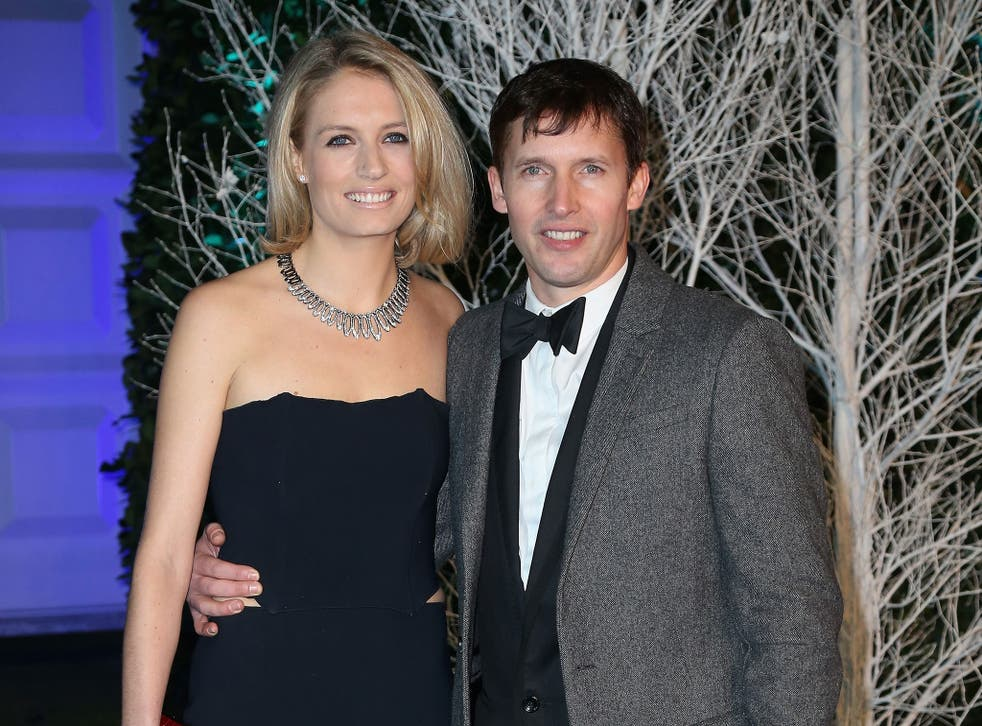 James Blunt is married to Sofia Wellesley, the grand daughter of the eighth Duke of Wellington
