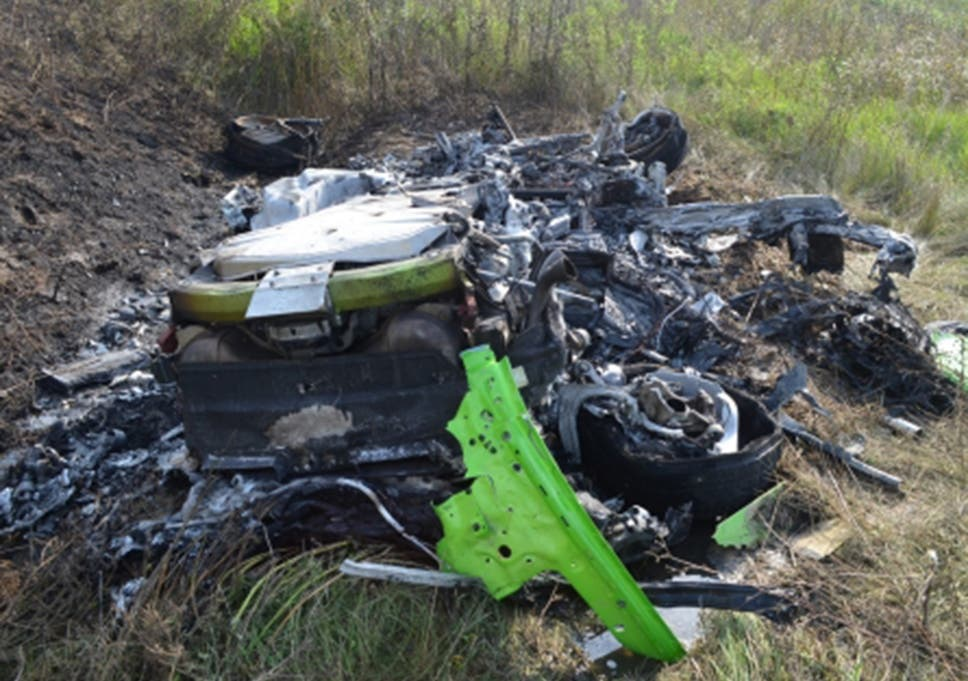 Video shows the first Lamborghini Huracan crash at over