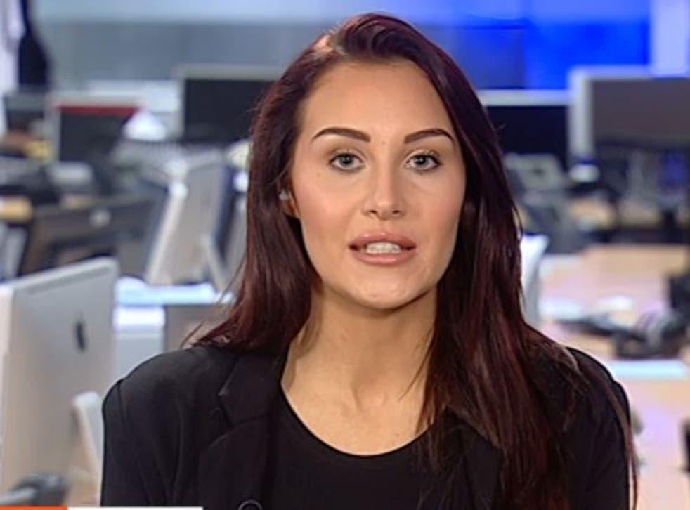 Chloe Goodman appeared on Channel 4