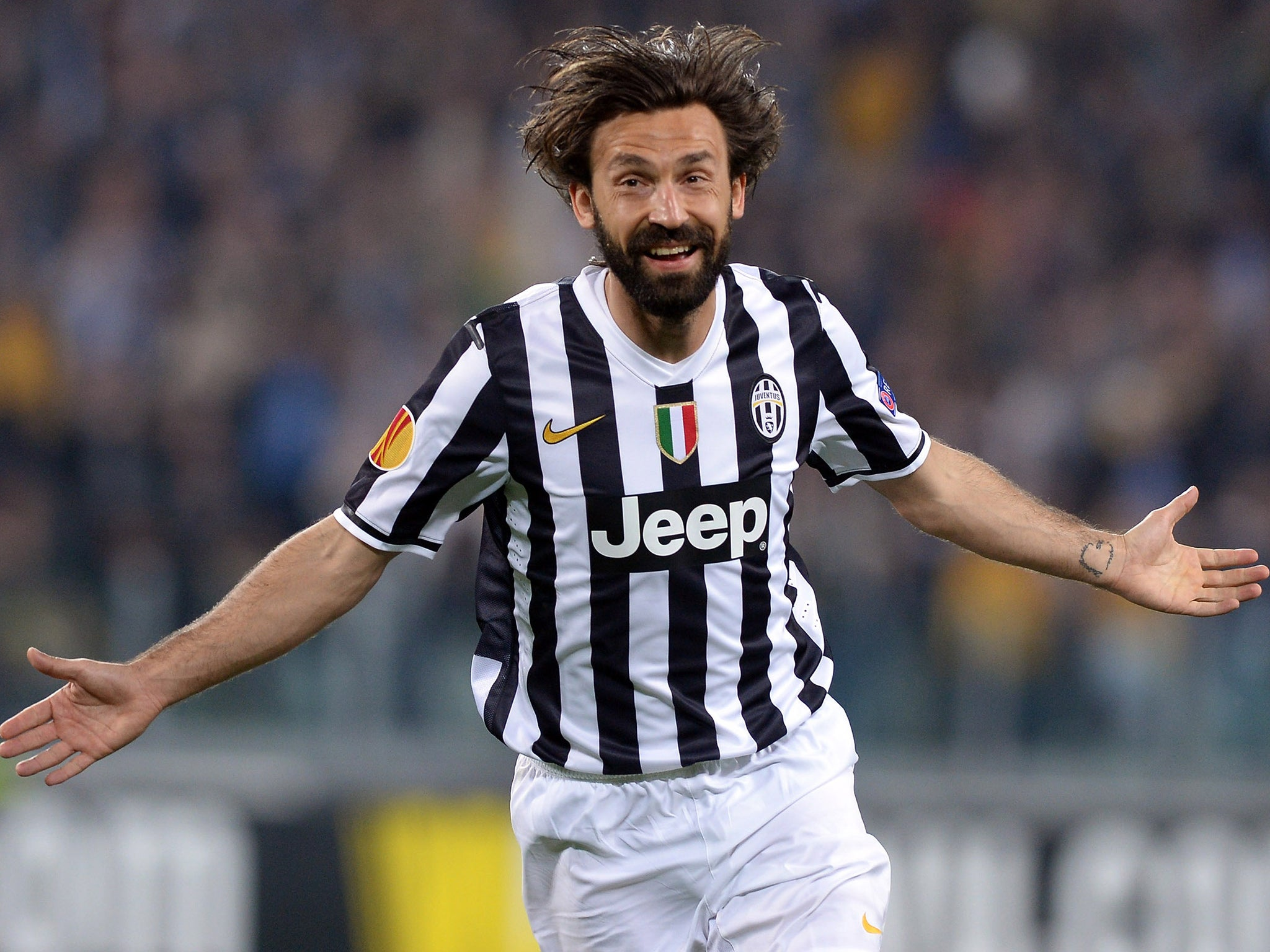 Andrea Pirlo belongs to a dying breed of sporting ...  |Pirlo