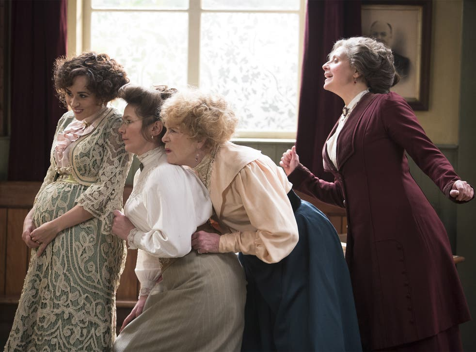 Sister act: Emma Pierson, Jessica Hynes, Judy Parfitt and Rebecca Front in 'Up the Women'