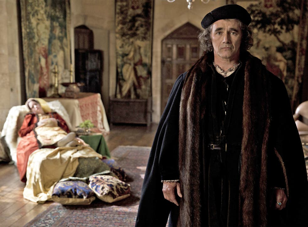 Mark Rylance stars as Thomas Cromwell in BBC2's 'Wolf Hall'