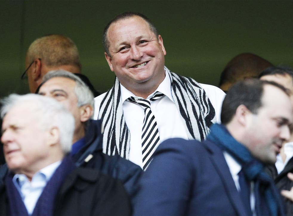 Mike Ashley, owner of Newcastle United, took USC into a  pre-pack administration
