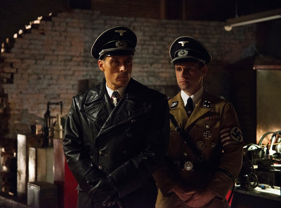 British actor Rufus Sewell plays a sadistic Nazi commander in New York