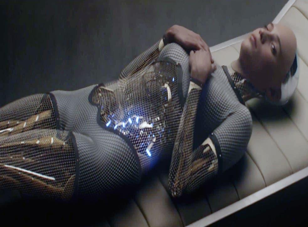 Alicia Vikander in a scene from 'Ex Machina'