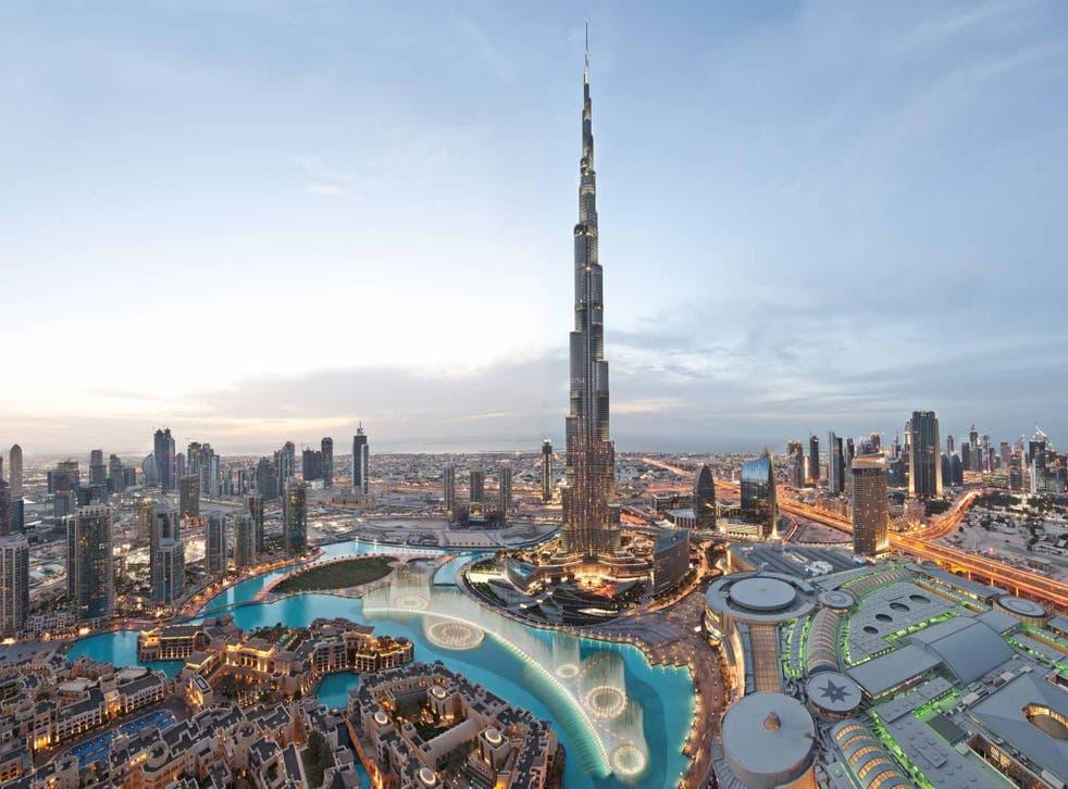 Look sharp: the Burj Khalifa towers over Dubai