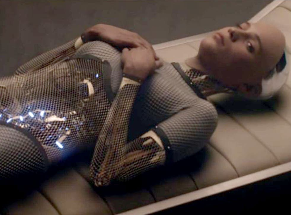 She's electric: some scientists believe that robots with consciousness, such as Ava in 'Ex Machina', are only 'a couple of breakthroughs away'