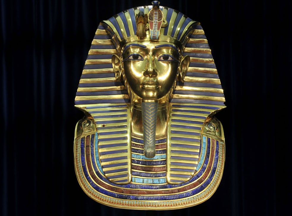 Tutankhanum's famous gold death mask may have been intended for his step-mother, Nefertiti