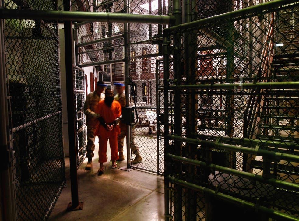 Inside Guantanamo: a prisoner and guards in 2009