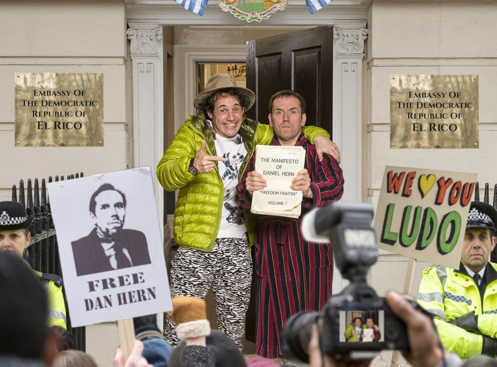 Asylum is a new BBC satire staring Ben Miller as a whistleblower