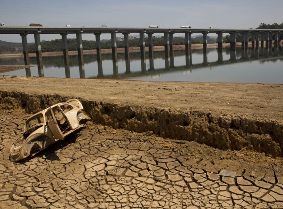 Brazil has been experiencing its lowest rainfall since 1930 (AFP)