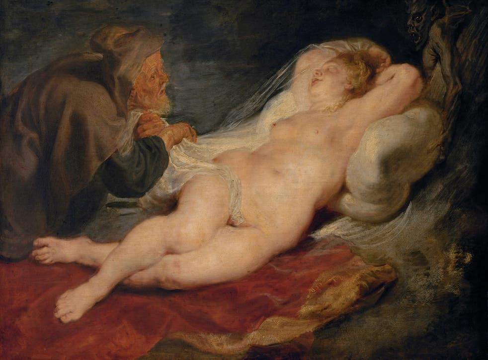 'The Hermit and the Sleeping Angelica' (1626-8) by Rubens