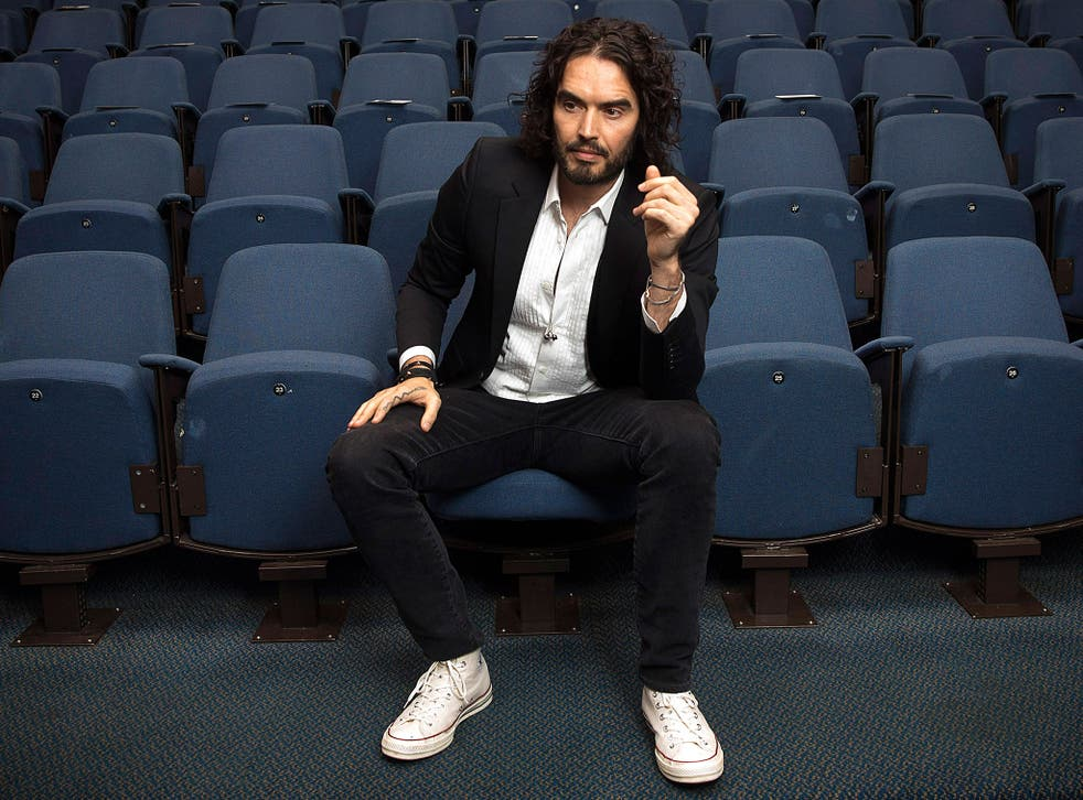 Russell Brand says he'd vote for Syriza