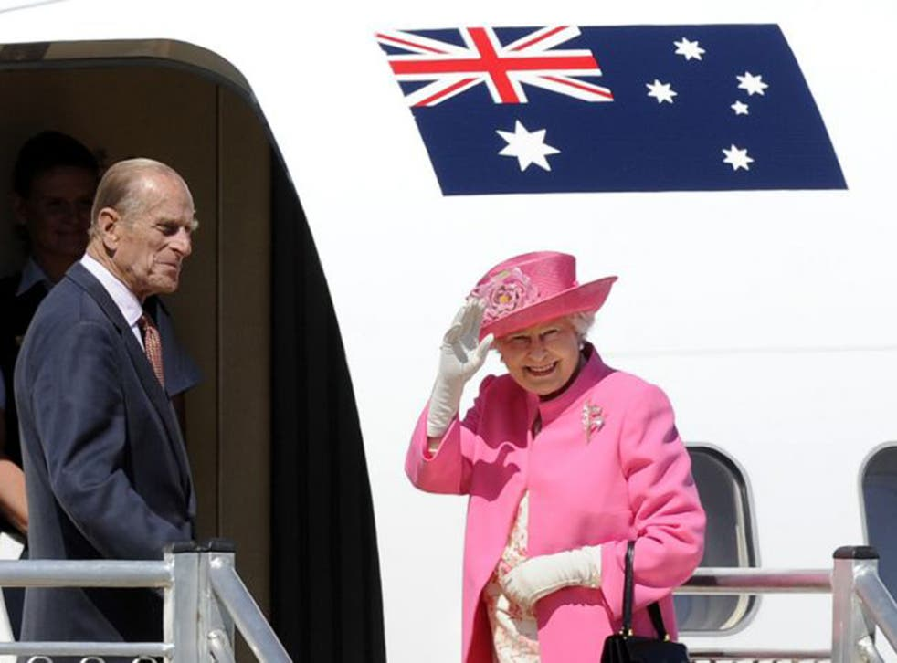 Queen Elizabeth and Prince Philip on their way to attend the Commonwealth heads of government meeting in Perth in 2011; Australians have been left bemused by their Prime Minister making Prince Philip a Knight of the Order of Australia (AP)