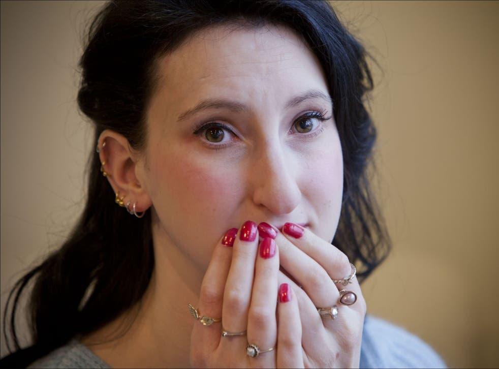 Katie Grant is hopeful of a brighter future as she overcomes emetophobia (David Sandison)
