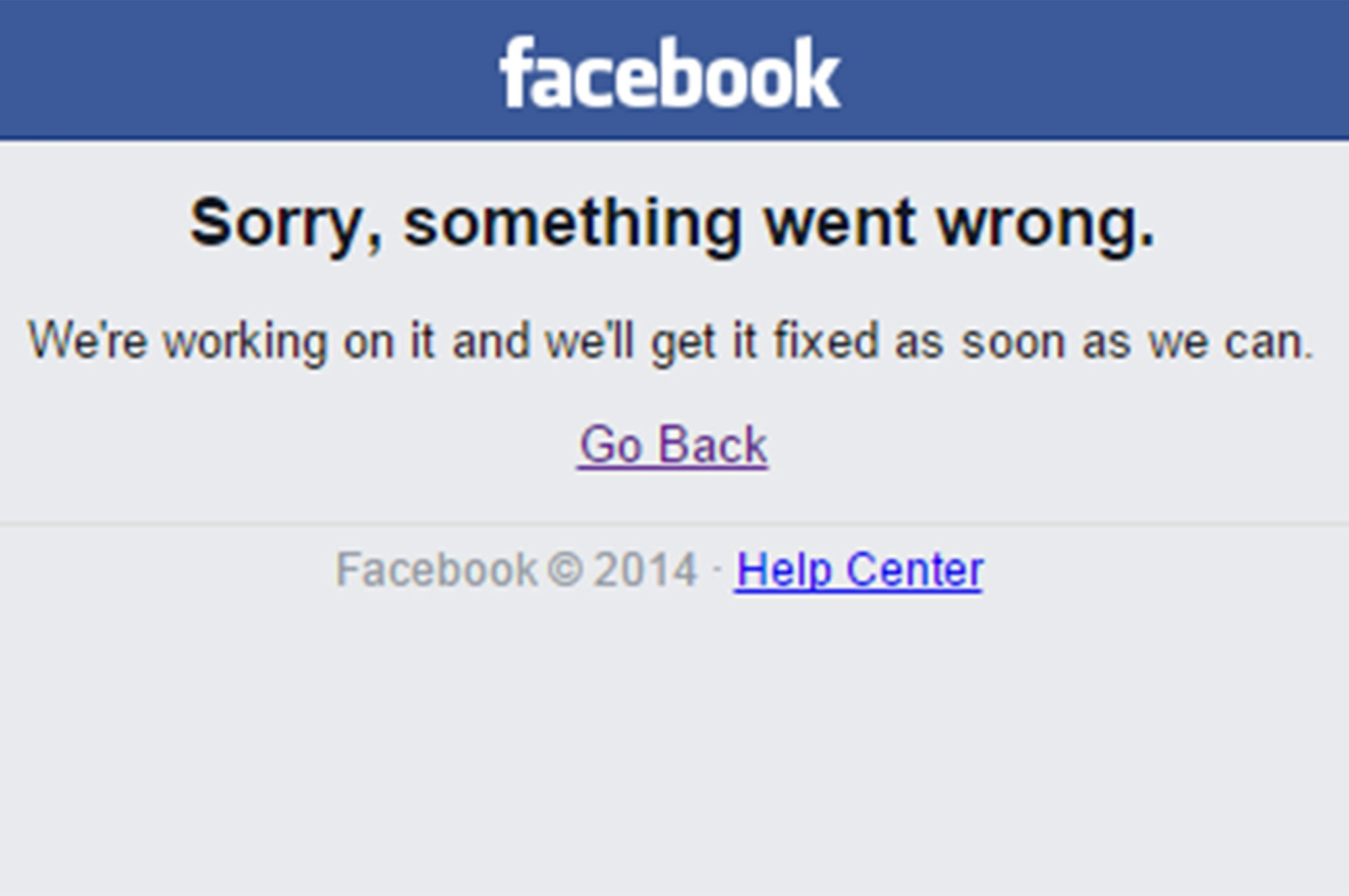 Facebook, Instagram websites down — Lizard Squad hint at ...