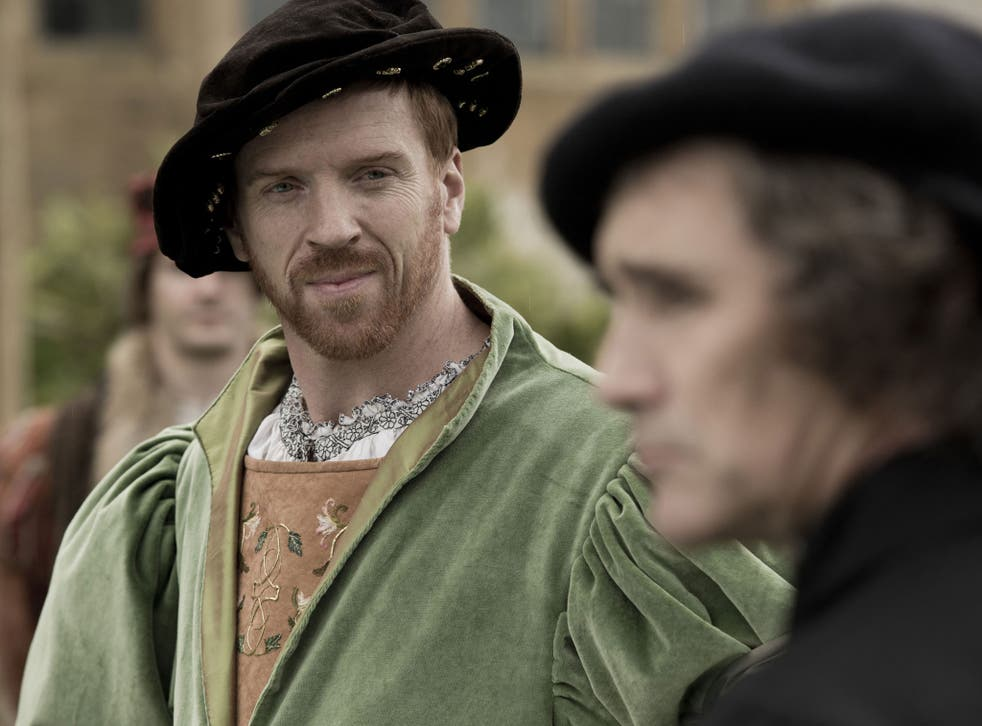 Henry VIII played by Damien Lewis