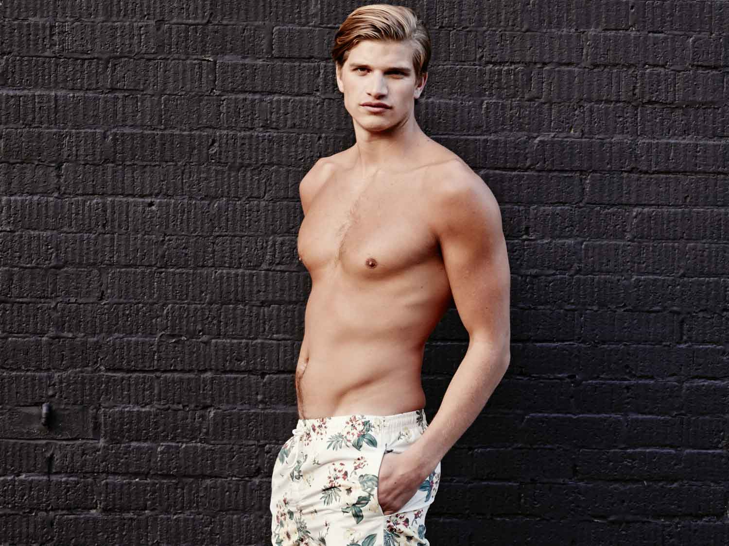rosie huntington whiteley s little brother toby makes modelling