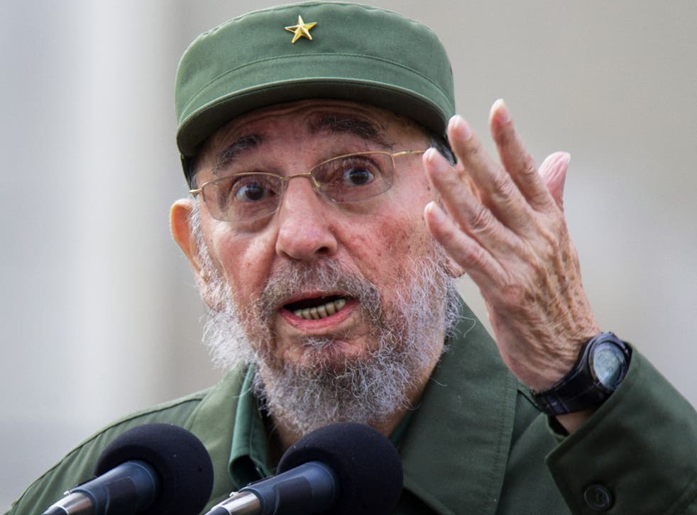 Former Cuban leader, Fidel Castro, pictured in 2010