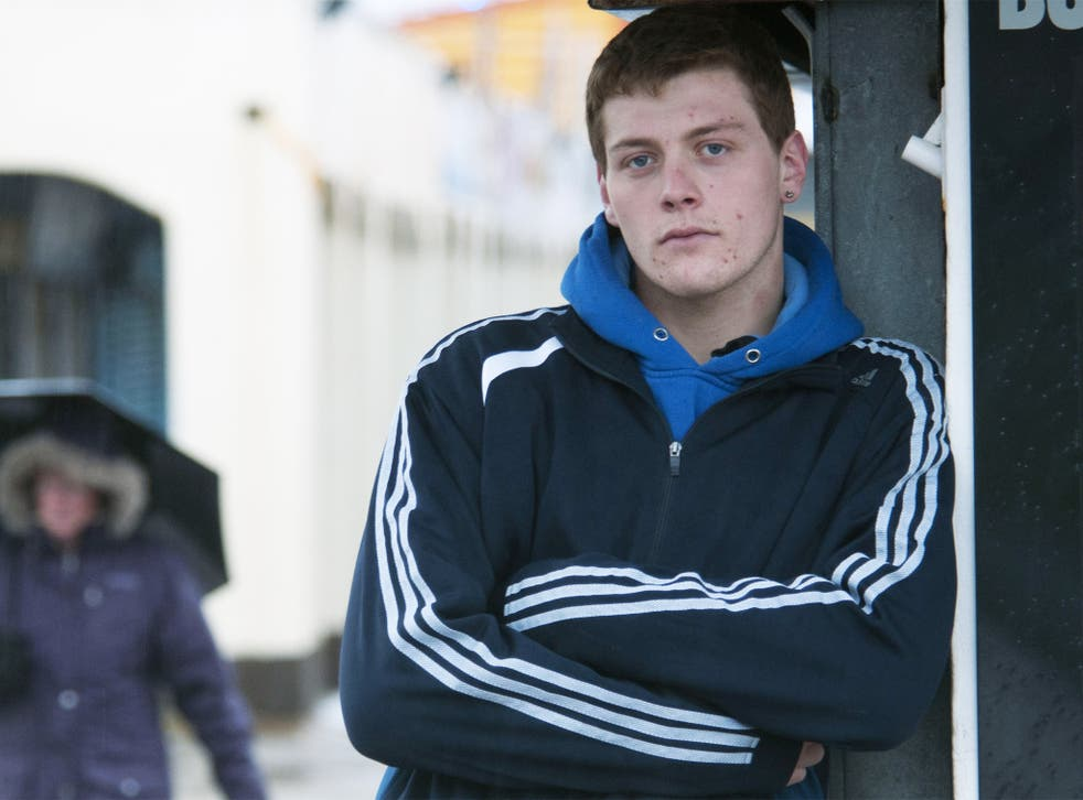 Daniel Jepson was homeless at 16 years old