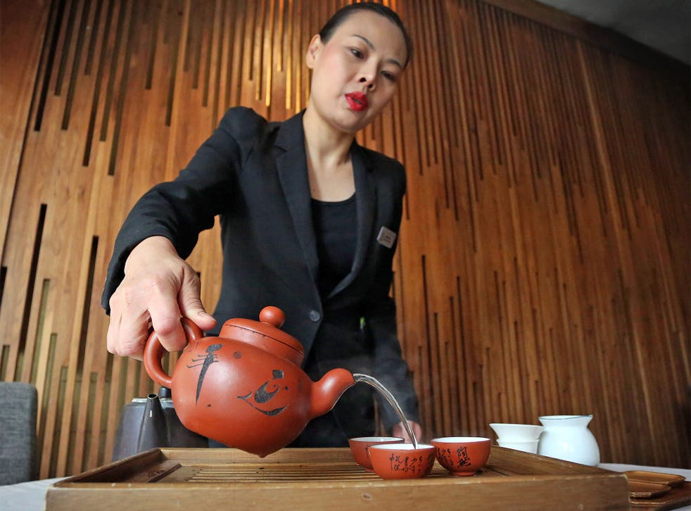 Pot Of Gold Tasting The World S Most Expensive Tea The Independent The Independent