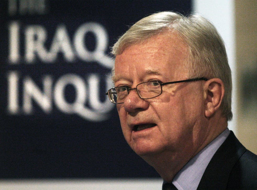 Sir John Chilcot, Chairman of the Iraq Inquiry, 'has been subjected to hatchet jobs'