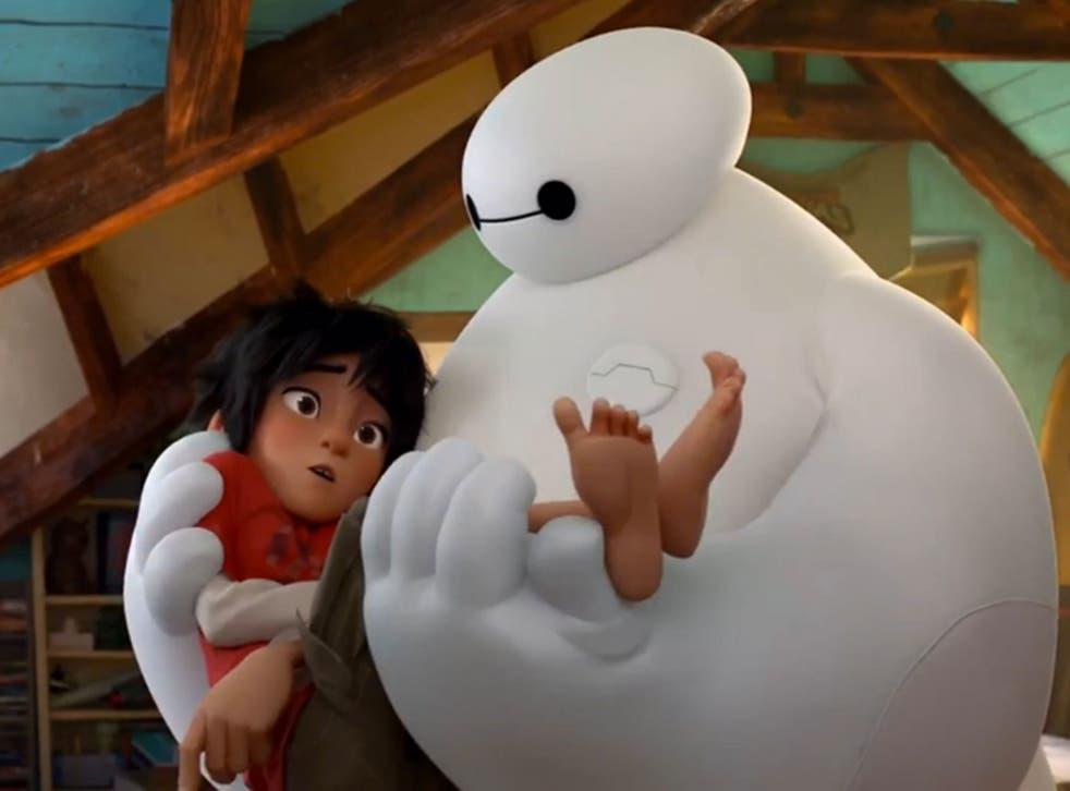 This weekend's 'Big Hero 6' by Disney Animation Studios
