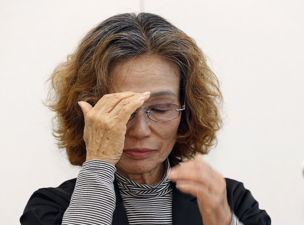 Kenji Goto's mother Junko Ishido expressed hope for his release, but also desperation