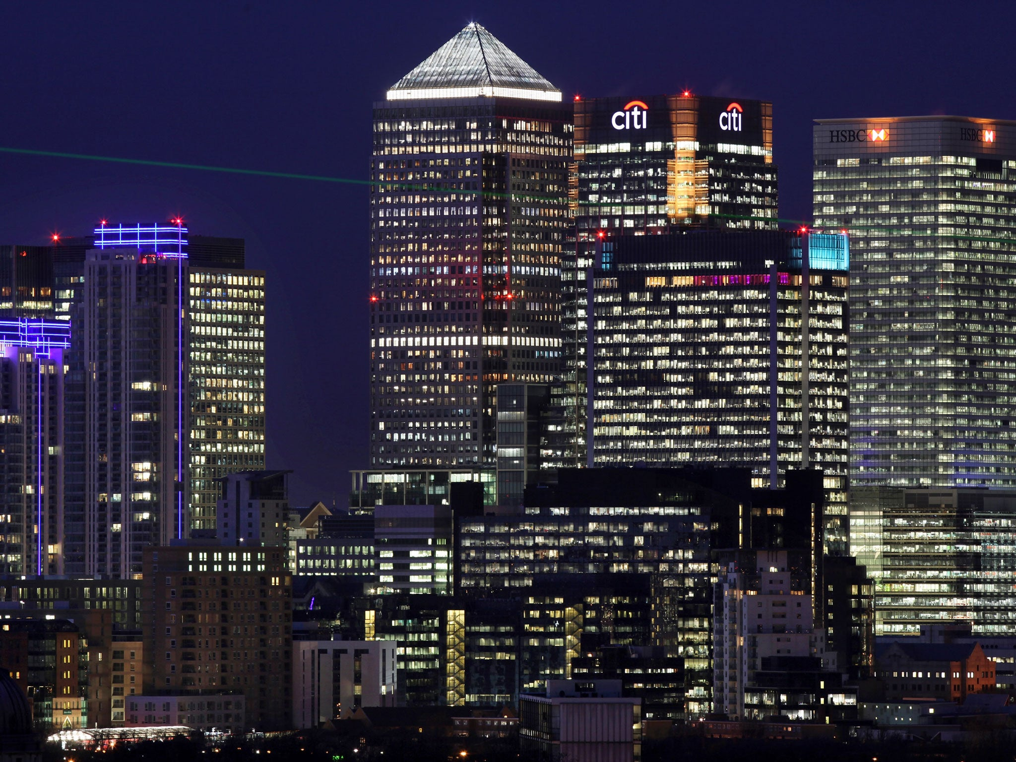 canary wharf rent rising at fastest rate in the capital knight