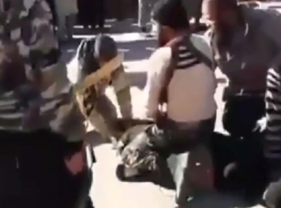 The man continued to struggle up until his death at the hands of Isis in Al-Shadadi, Syria