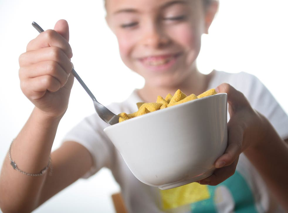 Parents could be giving their children cereals containing high amounts of sugar