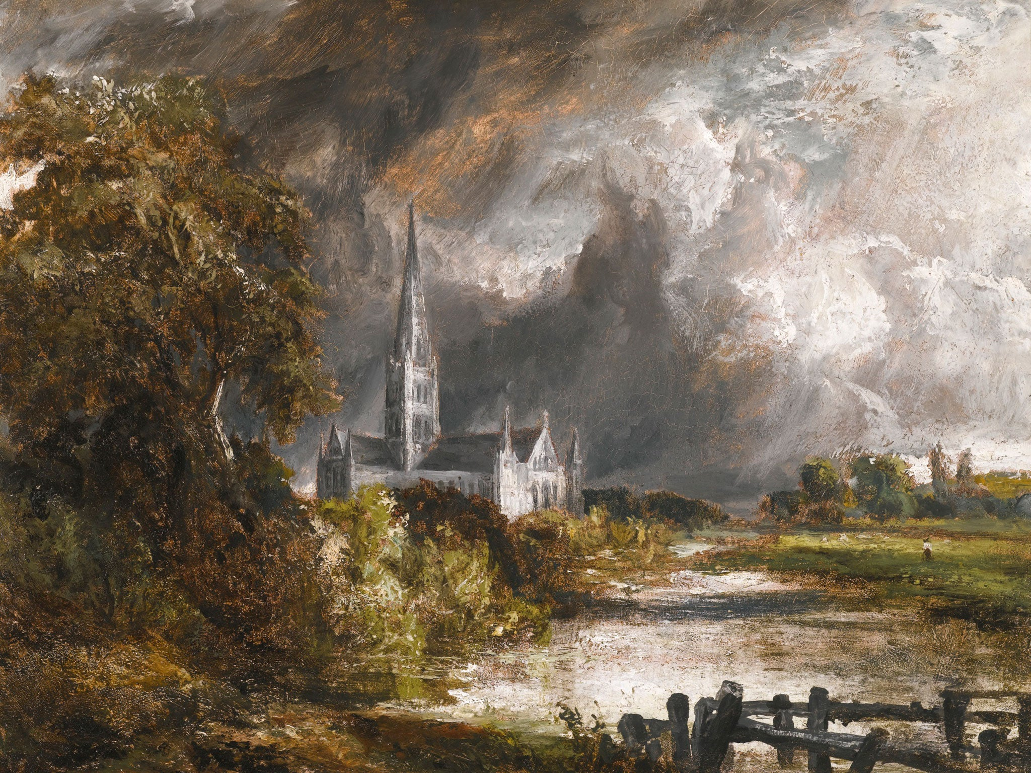 Baxter La Vista >> John Constable painting set to fetch up to £2m at Sotheby ...