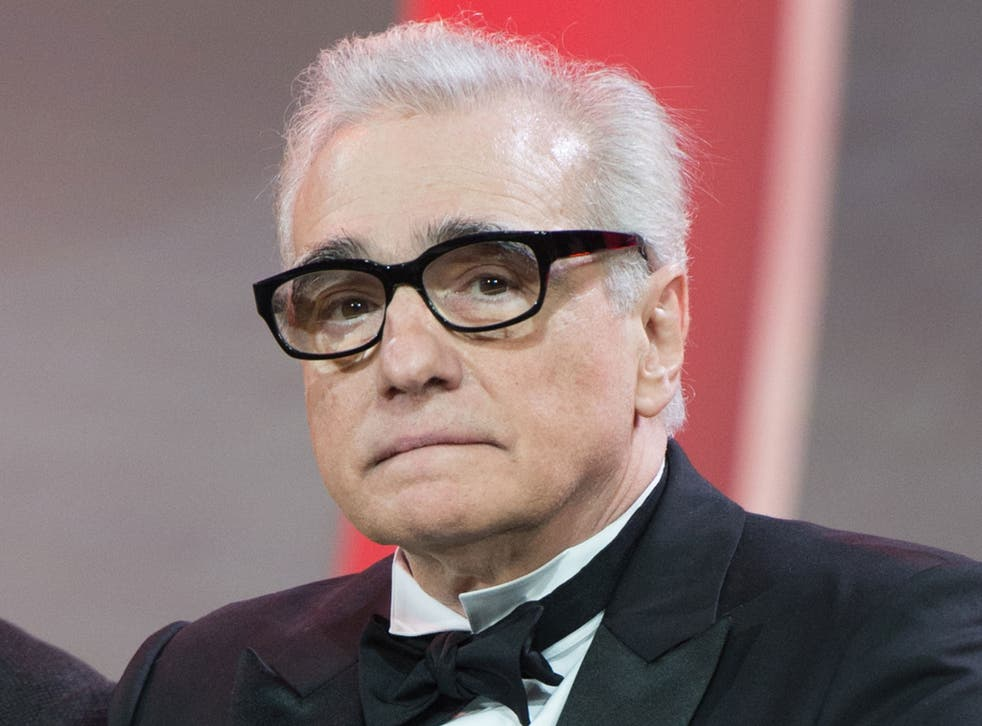 Film director Martin Scorsese