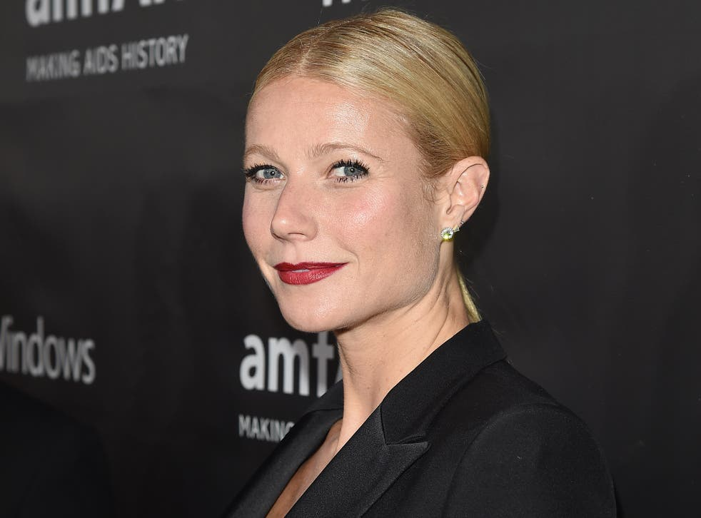 Gywneth Paltrow made the comments on her lifestyle website GOOP
