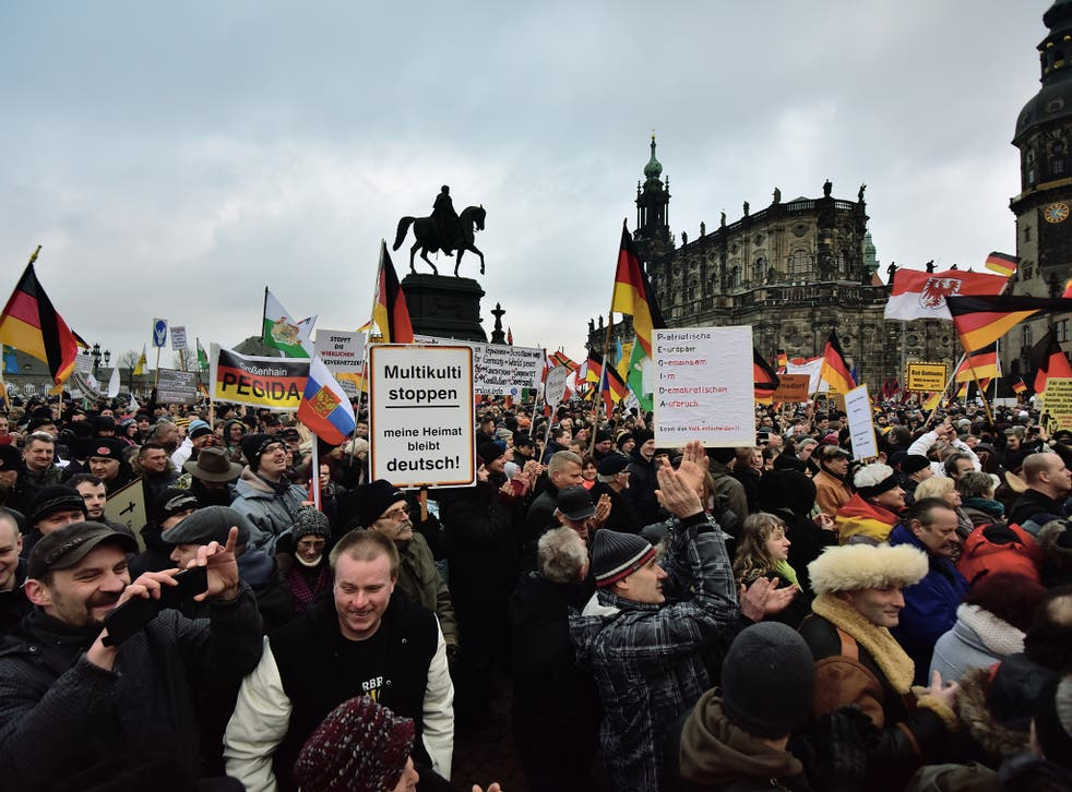 Pegida supporters' weekly demonstration against Islamic immigrants in Dresden on Monday could be their last. The movement has attracted some neo-Nazis and football hooligans to its protests
